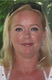 Sandra Blom, administratie/marketing/website
